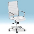 High-Back Leather Conference Chair, 52348