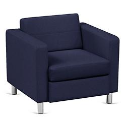 Atlantic Lounge Chair in Designer Upholstery, 53030