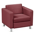 Atlantic Faux Leather Lounge Chair, 53031