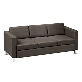 Atlantic Faux Leather Sofa, 53035