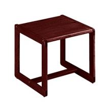 Sled Base End Table, 53075