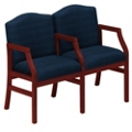 Heavy-Duty Fabric Traditional Two Seater, 53358