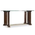 "Glass Top Writing Desk - 66""W, 14384"