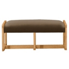 Fabric Two Seat Reception Bench, 53421