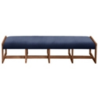 Fabric Four Seat Reception Bench, 53423