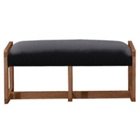 Vinyl Two Seat Reception Bench, 53427