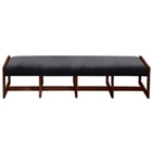 Vinyl Four Seat Reception Bench, 53429