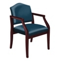 Fabric Traditional Guest Chair, 53518