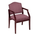 Heavy-Duty Vinyl Traditional Guest Chair, 53525