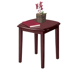 Traditional Solid Wood End Table, 53532