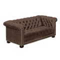 Brittas Bay Tufted Fabric Loveseat, 76259