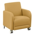 "Parkside Guest Chair with Casters - 27""W, 53611"