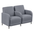 """Parkside Two Seater with Center Arm - 51.5""""W, 53614"""