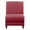 "Parkside Armless Guest Chair in Faux Leather or Fabric - 31""W, 53620"