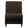 "Parkside Armless Guest Chair in Leather - 31""W, 53634"