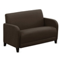 "Parkside Loveseat in Leather - 50""W, 53636"