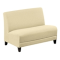 "Parkside Armless Loveseat in Leather - 44""W, 53641"
