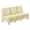 "Parkside Armless Sofa in Leather - 64.5""W, 53643"