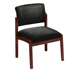 Designer Upholstery Armless Guest Chair, 53675