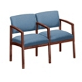 Designer Upholstery Two Seater with Center Arm, 53680