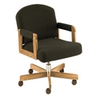 Contemporary Swivel Chair with Arms, 53798