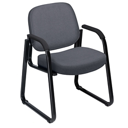 Fabric Guest Chair with Arms, 53866