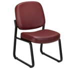 Armless Guest Chair in Vinyl, CD02662