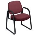 Guest Chair with Arms in Vinyl, 53868