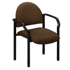 Guest Chair in Designer Fabric or Vinyl, CD04688