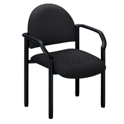 Big and Tall Guest Chair in Designer Fabric or Polyurethane, 53876