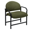 Oversized Guest Chair in Designer Fabric or Antimicrobial Polyurethane, 53877
