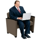 Crypton Fabric Bariatric Guest Chair with Arms, 53908