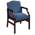 Traditional Guest Chair in Heavy Duty Upholstery, 53964