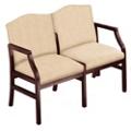 2 Seat Sofa in Heavy Duty Upholstery, 53965