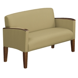Solid Fabric Belmont Loveseat, 53972