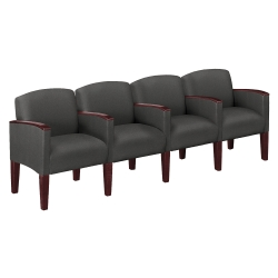 Four Seat Sofa In Print Fabric or Vinyl, 53985