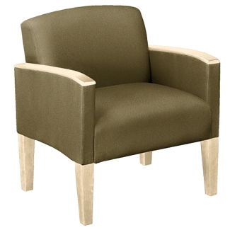Large Guest Chair in Print Fabric or Antimicrobial Vinyl, 53987