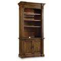 "Six Shelf Bookcase with Doors - 85.25""H, 32159"