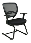 Cantilever Mesh Back Guest Chair, 57167
