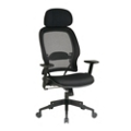 Mesh Back Chair with Adjustable Headrest, 57156