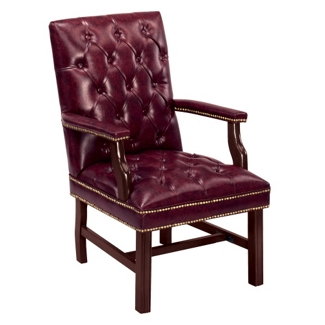 Cambridge Collection Guest Chair in Leather, 55574