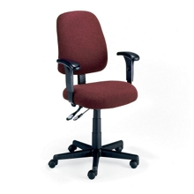 Mid Back Ergonomic Chair with Arms, 56139