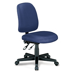 Mid Back Armless Ergonomic Chair, 56140