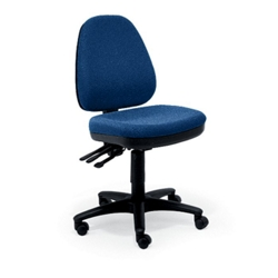 Five-Way Ergonomic Armless Chair, 56175