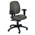 Heavy-Duty Fabric Ergonomic Chair with Arms, 56311
