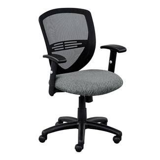 Network Mesh Back Fabric Seat Task Chair, 56398