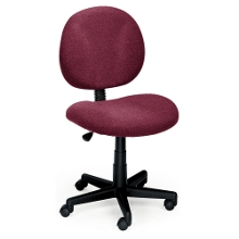 Armless Ergonomic Task Chair, 56430