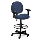 Ergonomic Stool with Arms, 56432