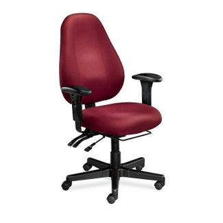 High Back Ergonomic Chair with Arms, 56453
