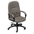 High-Back Chair in Standard Leather, 56465